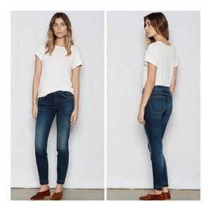 CURRENT/ELLIOTT Released hem Stretch Skinny Jean